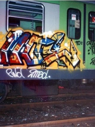 MOE 1990 - MadBob (2Mad) metro verde Milano